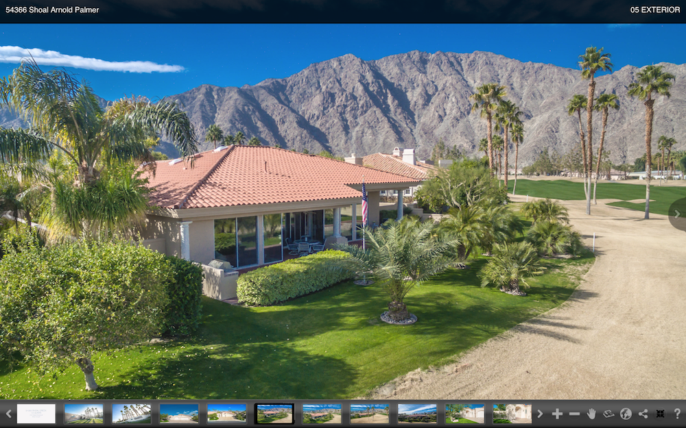 54366 Shoal Creek Arnold Palmer La Quinta Golf Course Real Estate Photography & Video Production