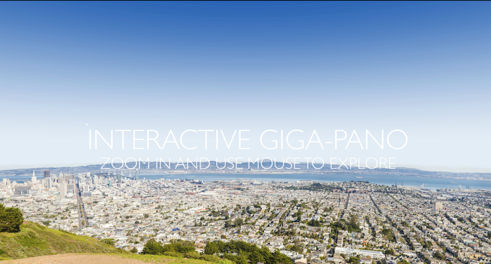 San Francisco Gigapano from Twin Peaks