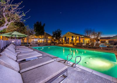 multi family swimming pool exterior twilight photography inland empire