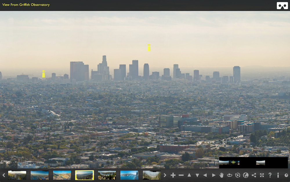 Los Angeles And Southern California GigaPano