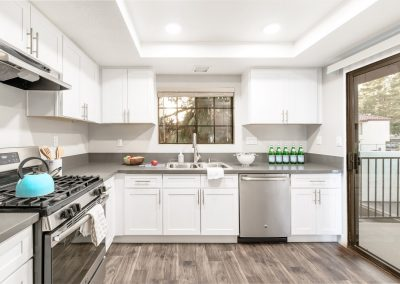 luxury condo kitchen photography  orange county california