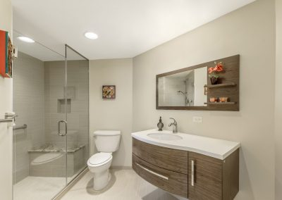 luxury bathroom interior design photography for condos